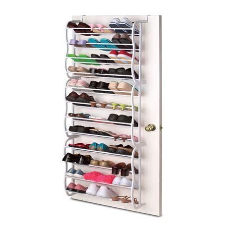Closet Space Organizer hanging shoe rack the door 36 pair closet space saver