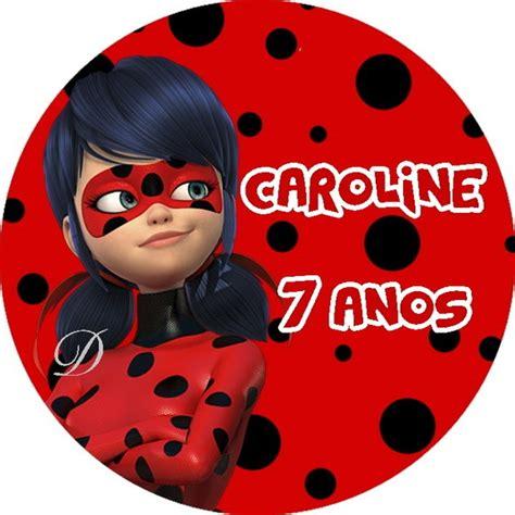 tags para topper ladybug no elo7 divinus artes 9f365f
