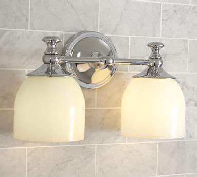 pottery barn bathroom lighting mercer sconce pottery barn