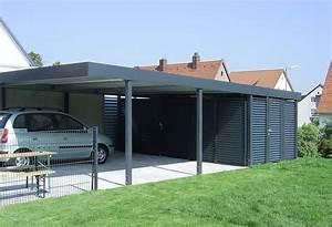Haus Mit Doppelcarport : doppelcarport mit ger teraumeinbau von siebau carport ~ Articles-book.com Haus und Dekorationen