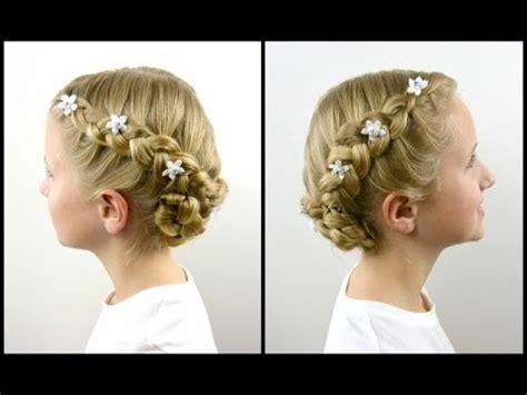dutch braid baptism hairstyle babesinhairlandcom youtube