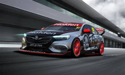 New Commodore V8 Supercar Concept Previews Holden's Next Racer