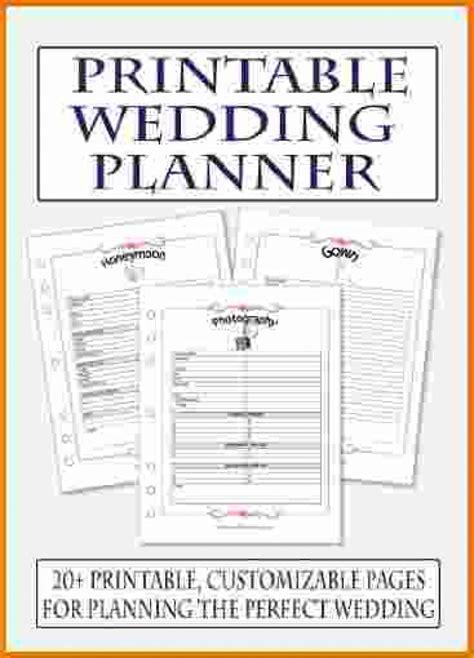 awesome diy wedding planner printables wedding ideas