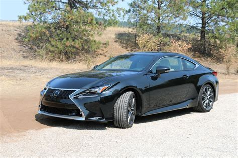 lexus rc  sport coupe balancing luxury