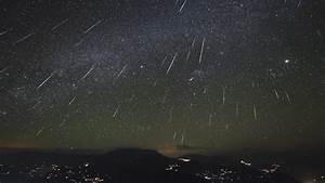 Geminid meteor shower tonight will be year's best, NASA says