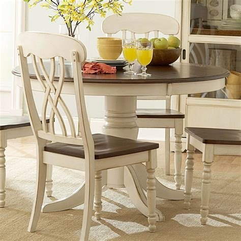 ohana white  dining table casual kitchen dining tables