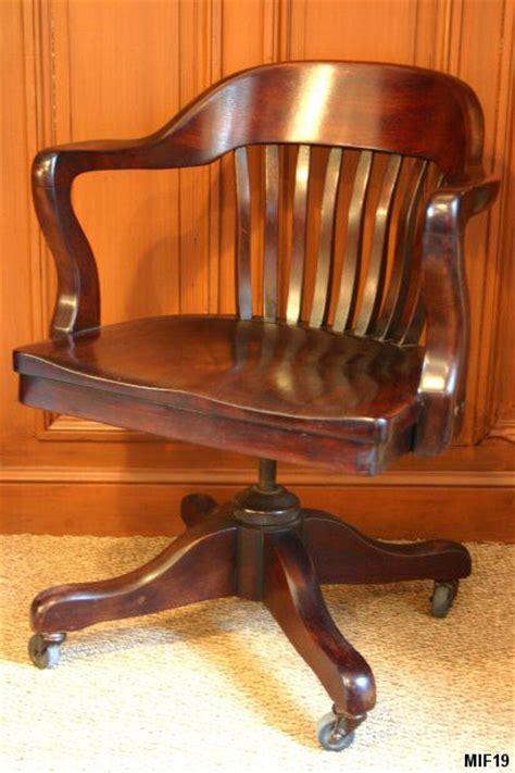 fauteuil de bureau americain fauteuil de bureau de type américain origine usa vers 1930