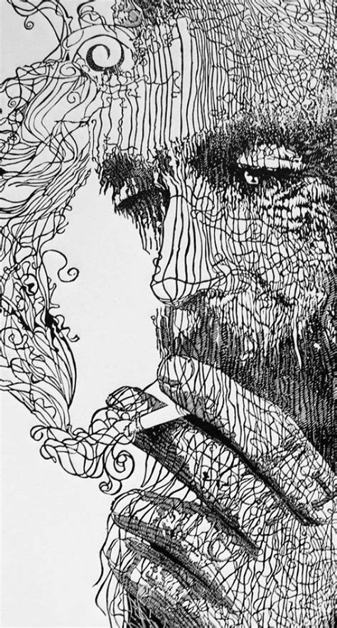 40 Best Examples Of Line Drawing Art Line Art Drawings