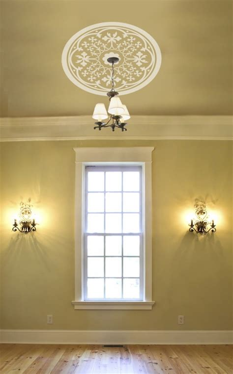 ceiling wall relief wall decal sticker