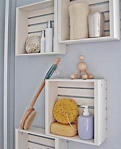 Badezimmer Selber Bauen : diy wandregalen und diy wanddeko aus paletten freshouse ~ Bigdaddyawards.com Haus und Dekorationen