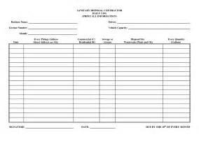 Daily Work Log Sheet Template