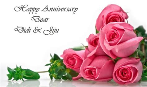 happy anniversary wishes  didi  jiju wishes guide