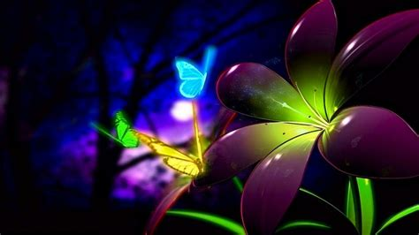 Animated Wallpaper 1366x768 - animated flowers wallpapers wallpapersafari