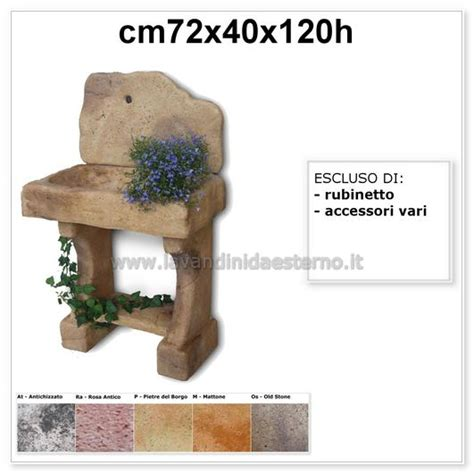 lavello rustico lavandini da giardino lavello rustico lavandinidaesterno it