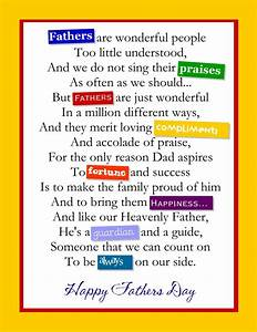 Happy Fathers Day Poems 2018 - 12 Best Fathers Day Poems ...