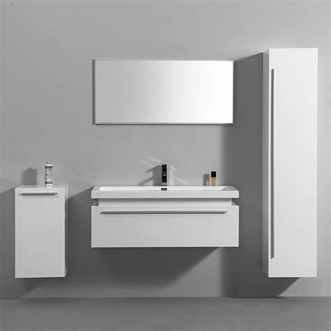 import et diffusion salle de bain import diffusion ensemble complet meuble de salle de bain 1 vasque 1 miroir blanc