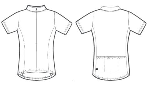 Custom Cycling Jersey Template by Custom Cycling Jerseys Template