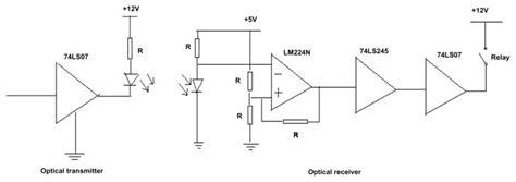 Optical Transmitter Receiver Circuit Download