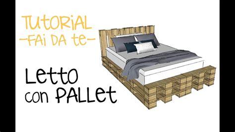 Come Costruire Un Letto Con I Pallet! Video Tutorial Fai