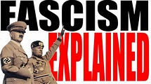 Fascism Explained: World History Review - YouTube