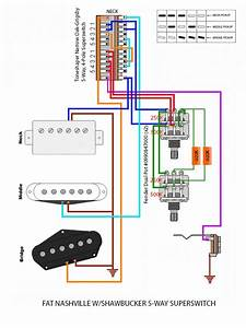 Shawbucker Wiring W  Superswitch