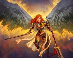 Angel Warrior Wallpaper and Background Image | 1280x1024 ...