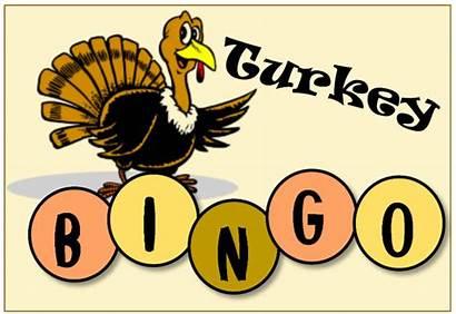 Bingo Turkey Clipart Thanksgiving Transparent Lake June