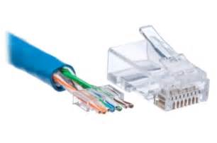cat 6 connectors rj45 cat 6 modular with guide for stranded wire