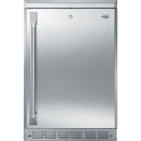 ge monogram  stainless steel  cuft compact refrigerator zdodh ss brandsmart usa