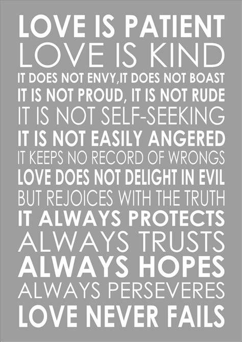 love  patient love  kind  corinthians  popular