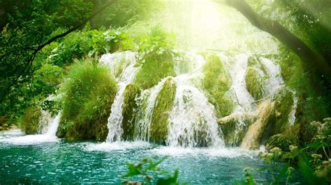 waterfall, Water, Nature Wallpapers HD / Desktop and ...