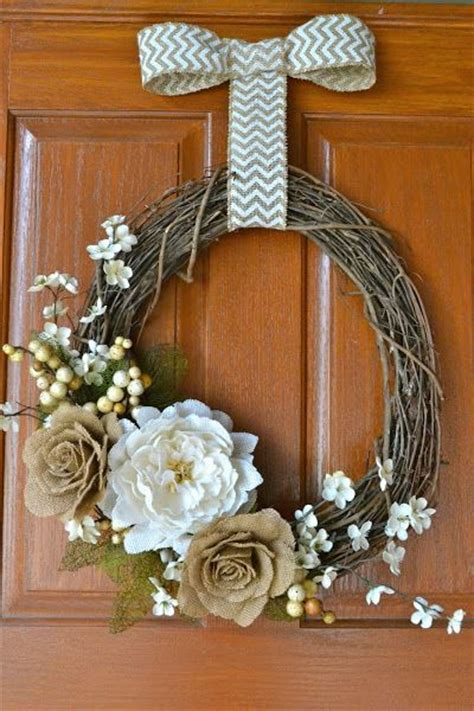 simple fall wreath simple fall wreath fall pinterest