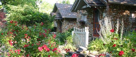 Rock Cottage Gardens  Eureka Springs, Arkansas The