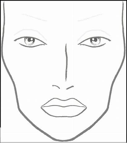 Face Mac Makeup Charts Chart Template Coloring