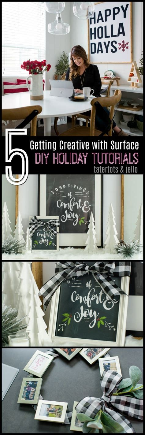 good tiding holiday chalkboard template create