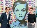 Elisabetta Fantone unveils Mona Lisa Corum watch, pop art ...