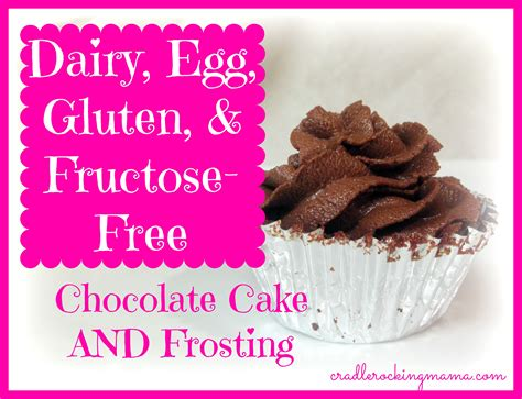 dairy free frosting delicious dairy egg gluten fructose free chocolate cake and frosting