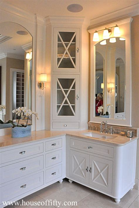 shaped double vanity bathroom inspiration images