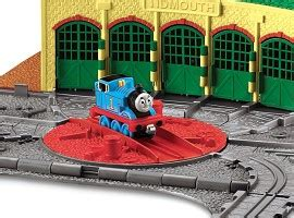 Tidmouth Sheds Trackmaster Asda by Take N Play Tidmouth Sheds Playset