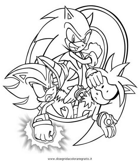 disegno sonicshadow personaggio cartone animato da