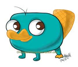 Cute Baby Perry Platypus