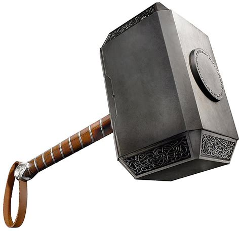 marvel legends thor mjolnir hammer electronic replica
