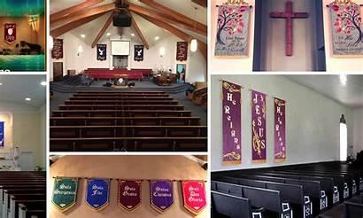 Church Banners Wall Walls Mother Weddings Info