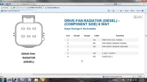 2004 Dodge 3500 Fan Wiring Diagram by Fan Clutch Wire Harness