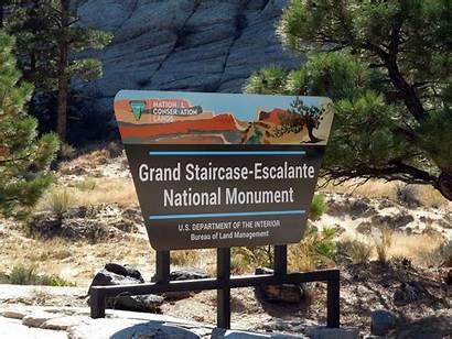 Trail Escalante Staircase Grand National Burr Monument