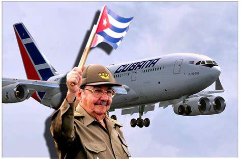 air cubana reservation siege les cubains sont enfin libres de sortir de l ile