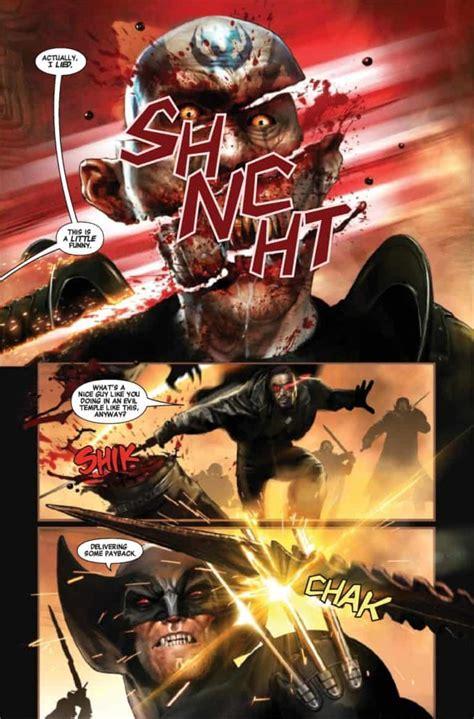SNEAK PEEK: Preview Marvel's WOLVERINE VS BLADE SPECIAL #1 ...