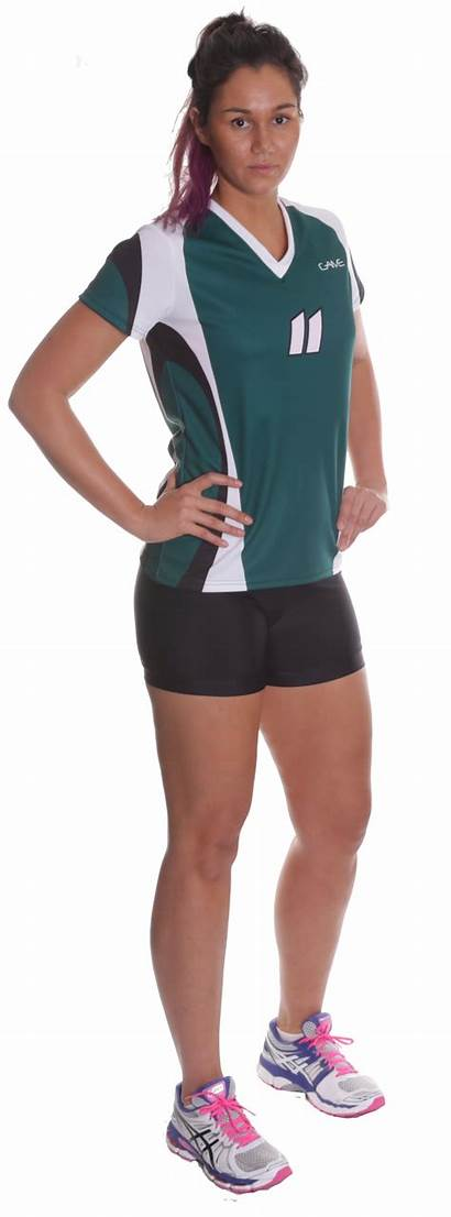 Uniforms Volleyball Sports Womens Looking Kit Spandex