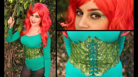 diy super easy halloween costume poison ivy youtube