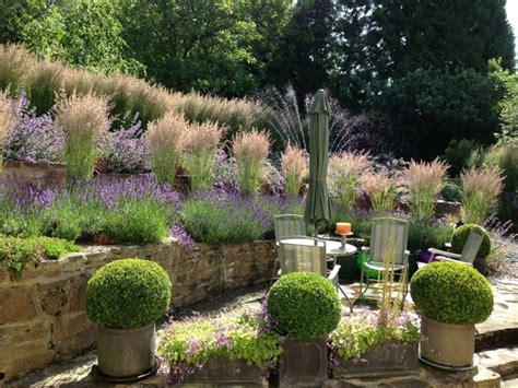 Stützmauer Im Garten  20 Ideen Für Gestaltung Von Terrassen